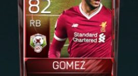 Joe Gomez RB 82 OVR Fifa Mobile Matchups Player