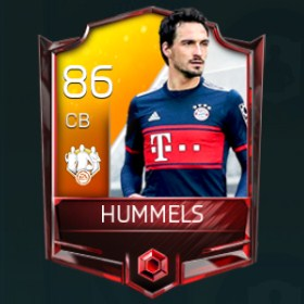 Mats Hummels 86 OVR Fifa Mobile TOTW Player