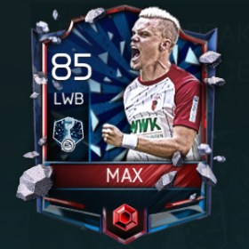 Philipp Max 85 OVR Fifa Mobile 18 Record Breaker Player