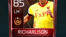 Richarlison 85 OVR Fifa Mobile Tournament Player