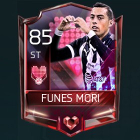 Rogelio Funes Mori 85 OVR Fifa Mobile 18 Heartbreakers Player