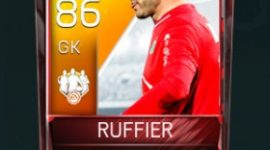 Ruffier 86 OVR Fifa Mobile 18 TOTW February 2018 Week 3 Player