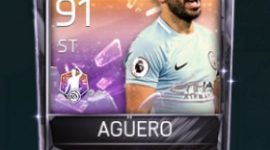 Sergio Agüero Fifa Mobile 18 POTM Player