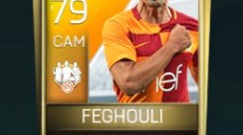 Sofiane Feghouli 79 OVR Fifa Mobile TOTW Player