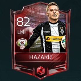 Thorgan Hazard LM 82 OVR Fifa Mobile 18 Matchups Player