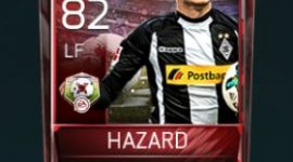 Thorgan Hazard LF 82 OVR Fifa Mobile 18 Matchups Player
