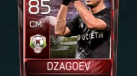 Alan Dzagoev 85 OVR Fifa Mobile 18 Matchups Player