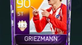 Antoine Griezmann 90 OVR Fifa Mobile 18 TOTW February 2018 Week 4 Player