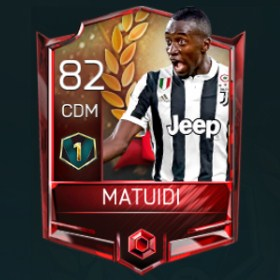 Blaise Matuidi 82 OVR Fifa Mobile 18 VS Attack Player