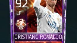 Cristiano Ronaldo 92 OVR Fifa Mobile 18 Man of The Match Player