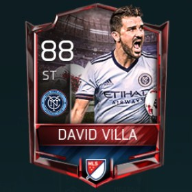 David Villa 88 OVR Fifa Mobile 18 Matchups Player