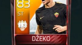 Edin Džeko 83 OVR Fifa Mobile 18 TOTW March 2018 Week 1 Player