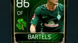 Fin Bartels 86 OVR Fifa Mobile 18 St. Patrick's Day Player
