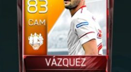 Franco Vázquez 83 OVR Fifa Mobile 18 TOTW March 2018 Week 1 Player