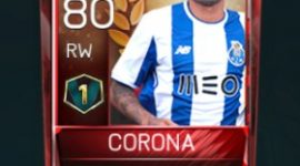 Jesús Corona 80 OVR Fifa Mobile 18 VS Attack Player