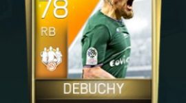 Mathieu Debuchy 78 OVR Fifa Mobile 18 TOTW February 2018 Week 4 Player
