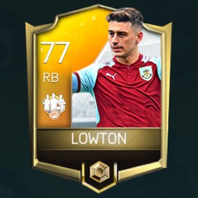 Matthew Lowton 77 OVR Fifa Mobile 18 TOTW March 2018 Week 1 Player