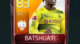 Michy Batshuayi 83 OVR Fifa Mobile 18 TOTW March 2018 Week 2 Player