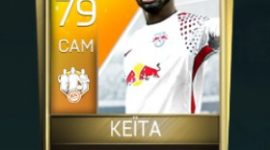 Naby Keïta 79 OVR Fifa Mobile 18 TOTW March 2018 Week 3 Player