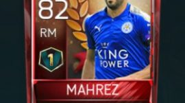 Riyad Mahrez 82 OVR Fifa Mobile 18 VS Attack Player