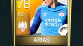 Santiago Arias 78 OVR Fifa Mobile 18 TOTW February 2018 Week 4 Player