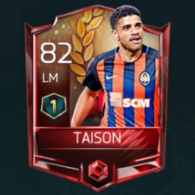 Taison 82 OVR Fifa Mobile 18 VS Attack Player