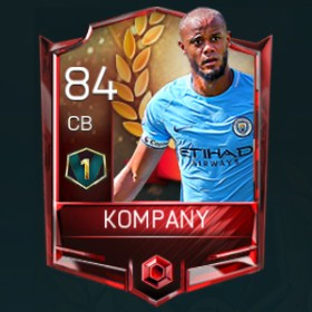 Vincent Kompany 84 OVR Fifa Mobile 18 VS Attack Player