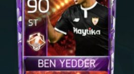 Wissam Ben Yedder 90 OVR Fifa Mobile 18 Man of The Match Player