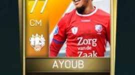 Yassin Ayoub 77 OVR Fifa Mobile 18 TOTW March 2018 Week 2 Player
