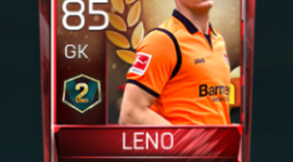 Bernd Leno 85 OVR Fifa Mobile 18 VS Attack Season 2 Player