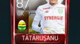 Ciprian Tătăruşanu 87 OVR Fifa Mobile 18 Easter Player - White Edition Player