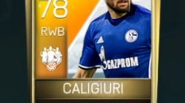 Daniel Caligiuri 78 OVR Fifa Mobile 18 TOTW April 2018 Week 3 Player