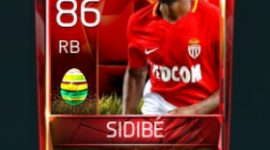 Djibril Sidibé 86 OVR Fifa Mobile 18 Easter Player - Red Edition Player
