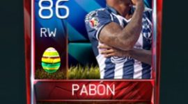 Dorlan Pabón 86 OVR Fifa Mobile 18 Easter Player - Blue Edition Player