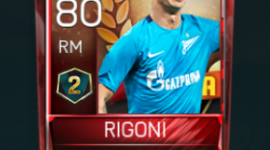Emiliano Rigoni 80 OVR Fifa Mobile 18 VS Attack Season 2 Player