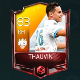 Florian Thauvin 83 OVR Fifa Mobile 18 TOTW April 2018 Week 4 Player