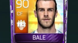 Gareth Bale 90 OVR Fifa Mobile 18 TOTW March 2018 Week 4 Player