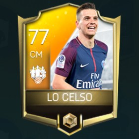 Giovani Lo Celso 77 OVR Fifa Mobile 18 TOTW April 2018 Week 3 Player