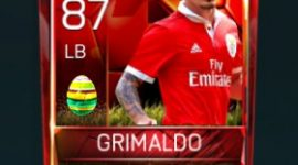 Grimaldo 87 OVR Fifa Mobile 18 Easter Player - Red Edition Player