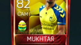 Hany Mukhtar 82 OVR Fifa Mobile 18 Easter Player - Yellow Edition Player