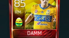 Jürgen Damm 85 OVR Fifa Mobile 18 Easter Player - Yellow Edition Player