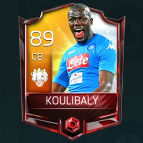 Kalidou Koulibaly 89 OVR Fifa Mobile 18 TOTW April 2018 Week 4 Player