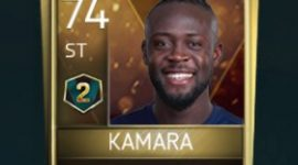 Kei Kamara 74 OVR Fifa Mobile 18 VS Attack Season 2 Player