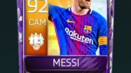 Lionel Messi 92 OVR Fifa Mobile 18 TOTW April 2018 Week 2 Player