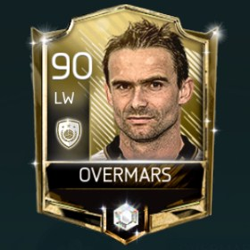 Marc Overmars 90 OVR Fifa Mobile 18 Icons Player