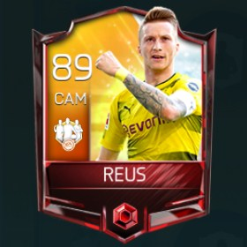 Marco Reus 89 OVR Fifa Mobile 18 TOTW April 2018 Week 4 Player