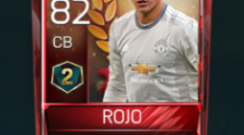 Marcos Rojo 82 OVR Fifa Mobile 18 VS Attack Season 2 Player