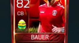 Patrick Bauer 82 OVR Fifa Mobile 18 Easter Player - Red Edition Player