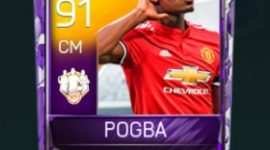 Paul Pogba 91 OVR Fifa Mobile 18 TOTW April 2018 Week 2 Player
