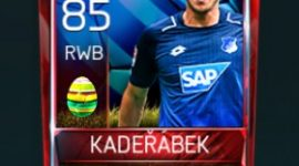 Pavel Kadeřábek 85 OVR Fifa Mobile 18 Easter Player - Blue Edition Player